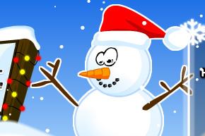 design a snowman